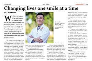 Dr. Trieu Ton in the Press