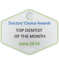Doctors' Choice Awards - Top Dentist of the Month 2016