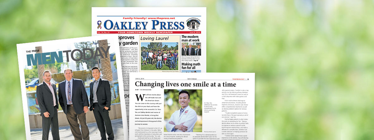 Autumn Lake Dental in the news